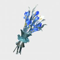 Wall Lamp Van Gogh Iris Bouquet
