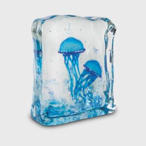 Blue Double Jellyfish Aquarium
