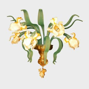 Wall Lamp White Iris
